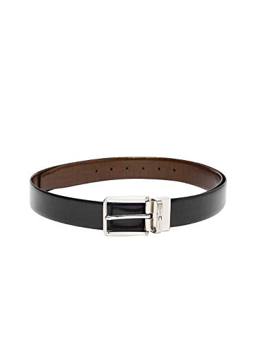 Tommy Hilfiger Men's Leather Belt (8903496089868_TH/GAKON01M/BLK/BRN)