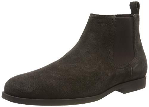 Geox Herren U KASPAR C Chelsea Boots, Braun (Dk Coffee C6024), 43 EU
