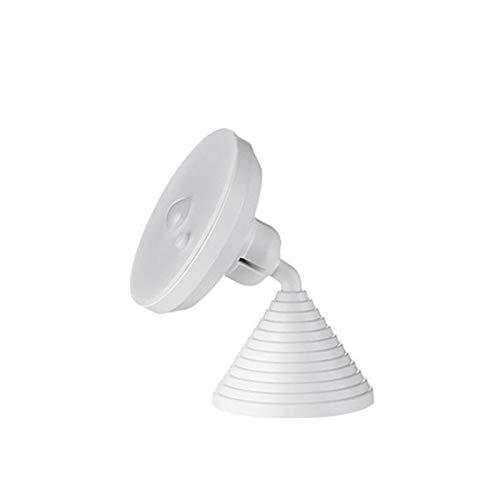 Luz de noche LED Sensor de movimiento USB inalámbrico Lámpara de noche recargable para gabinete de cocina Armario Colgando Magnético Lámpara de pared Luces de sensor interior