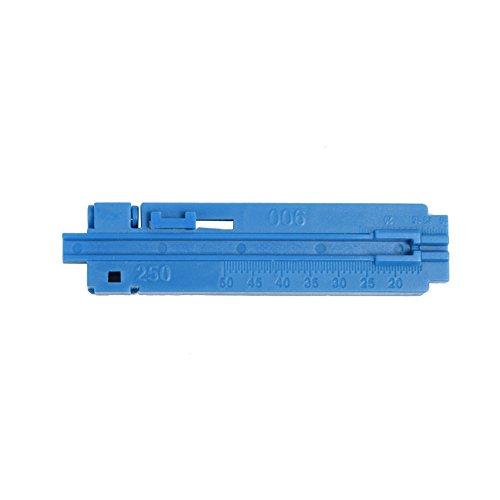 Herramienta de pelado de fibra óptica de alta precisión Kit de herramientas de empalme FTTH con cuchilla de fibra para red de fibra óptica