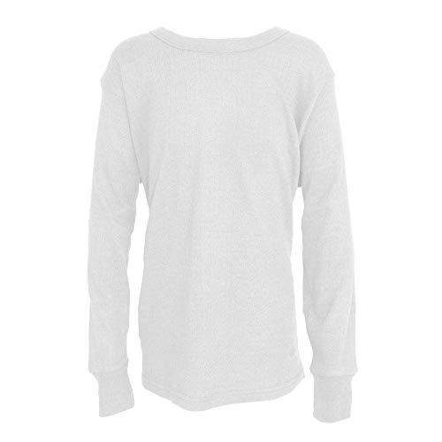 Floso - Camiseta básica/Interior térmica de Manga Larga pa
