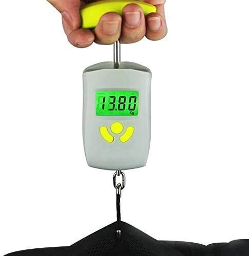 HSJ WYQ- Escala de grúa portátil de 50 kg / 10g (Libra, Ciudad, Ciudad, Onza, kilogramo) Digital Azul BRANDLE BRANCOL DE Pesca DE Pesca DE Pesca DE Pesca CRANA ELECTRÓNICA Escala de Primavera Peso
