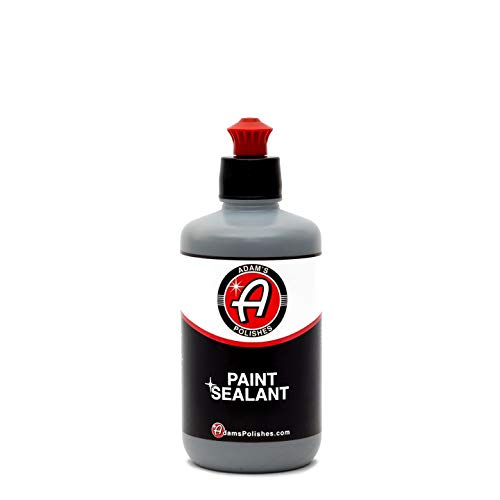 Adam's Paint Sealant 8oz - Incredibly Reflective Shine and Lasting Protection - Apply by Machine or...