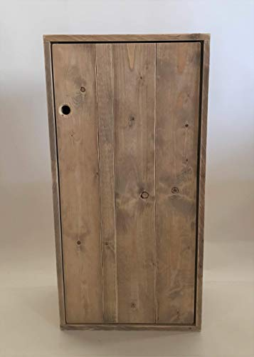 Palettenmöbel, Schrank in Palettenoptik Vintage gebeizt und in Handarbeit hergestellt.