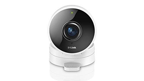 Oferta de D-Link DCS-8100LH - Cámara IP WiFi con acceso desde móviles, visión 180°, grabación en la nube y en el móvil, HD 720p, visión nocturna, ranura MicroSD, compatible Amazon Alexa y Google Home