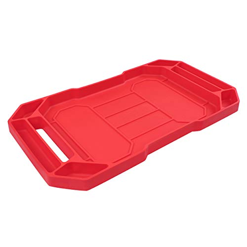 ABN Flexible Tool Tray - Silicone Rubber Tools Organizer, Non Slip Tool Holder Tray for Organizing Parts, 24in x 14in