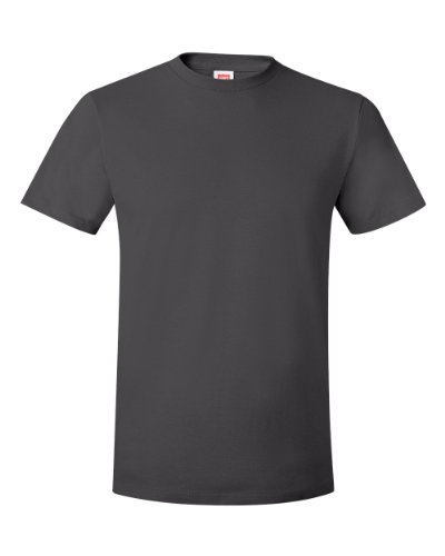Hanes 100% Ringspun Cotton Nano T-Shirt - Smoke Gray - XX-Large