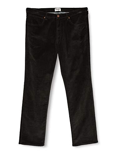 Wrangler Herren Arizona Corduroy Jeans, Moss Green, 44/34