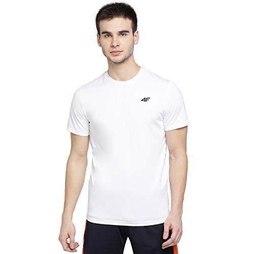4F Camiseta Unisex para Mujer Iara Color Blanco, L