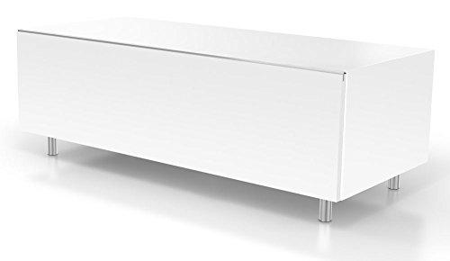 Just Racks TV-Möbel, Holz, Weiss, 48 x 110.8 x 38 cm