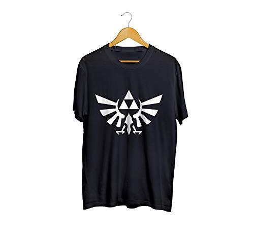 Camiseta Camisa The Legend Of Zelda masculino preto Tamanho:M