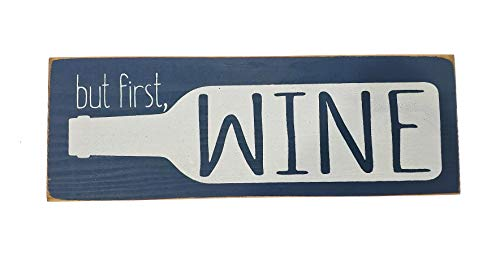 wood wine signs - 4