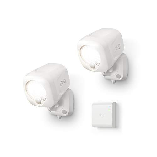 Introducing Ring Smart Lighting – Spotlight, White (Starter Kit: 2-pack)