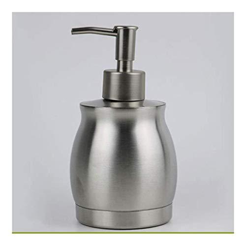 Dispensador de jabón de Acero Inoxidable Sub-Botella Gel de Ducha Champú Botella de Aceite Esencial Hotel Oficina Botella de líquido de jabón para el hogar