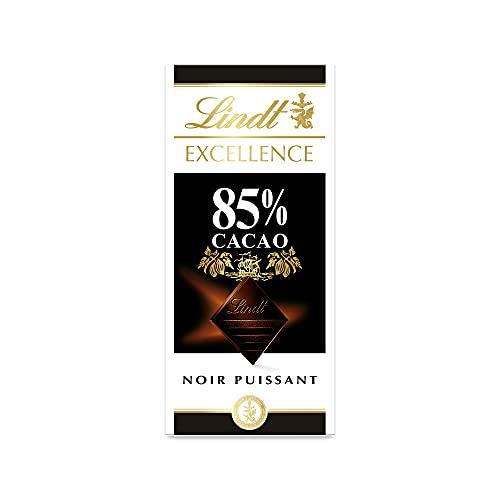 Lindt - Tablette 85% Cacao EXCELLENCE - Chocolat Noir - 100g