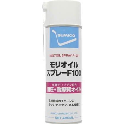 モリオイルスプレーf100(高性能浸透潤滑剤) Mo100s