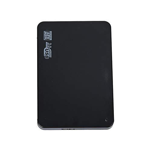iScooter 2,5 2TB Ultra Slim tragbare Externe Festplatte Sengert USB3.0 Mobile HDD Storage Kompatibel für PC, Desktop, Laptop-Schwarz