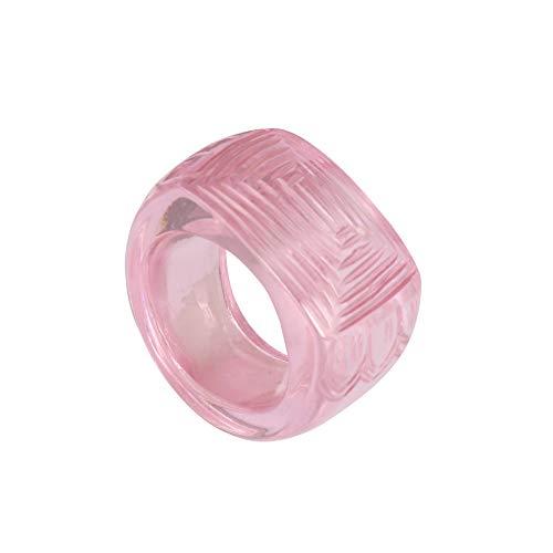 GEMHUB Anillo de piedras preciosas sueltas de 144.00 quilates, diseño de topacio rosa bebé, US-7