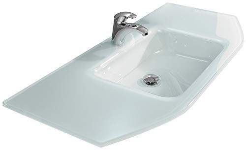 Pelipal - Alika 16 - Glas-Waschtisch - 112 cm - für die Badmöbel Alika, Amora, Granada, Velo