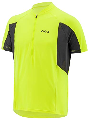 Louis Garneau Connection Jersey - Men's Bright Yellow, XL
