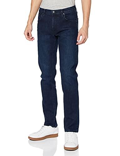 Lee Daren Zip Fly Jeans, Azul (Dark Blue Wood Go), 28W / 32L para Hombre