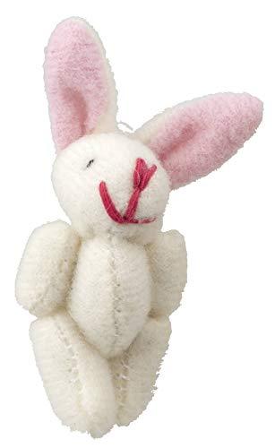 Melody Jane Dolls Houses Casa delle Bambole Bianco Coniglietto Giocattolo Morbido Grande Orsacchiotto Miniatura Vivaio Accessori di Negozio