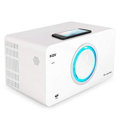 BCXGS 3-in-1 luchtreiniger met echte HEPA-filters, bluetooth-luidspreker, negatieve ionengenerator, app-bediening, preventie tegen allergieën, luchtreiniger, deeltjesfilter