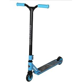 Stunt Scooter Street Pro Kick/Push 360 Spin Tricks Edition (Cipher (Blue))