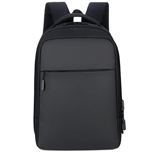 Glqwe Lichte rugzak voor wandelingen, waterdicht, 35 liter, Junior High School, schooltas, rugzak, USB-lader, voor buiten en laptop