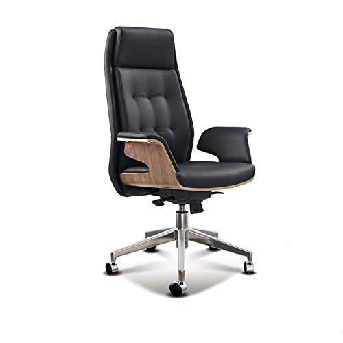 HJJWL Home Office Desk Chairs, Office Chairs,Gaming Chair Ergonomic Office Chair Desk Computer Chair Leather Office Chairs Ergonomic Executive Chair Meeting Room Manager Work Chair