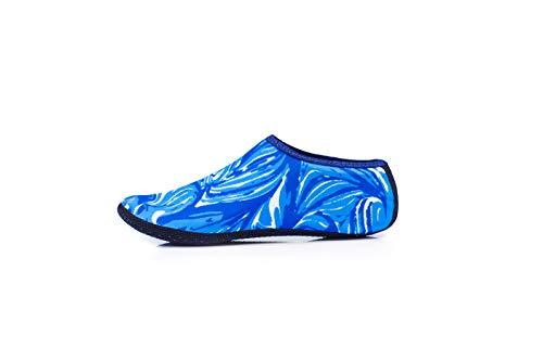 Calcetines de Piscina Adulto (Azul, XL: 39-42)