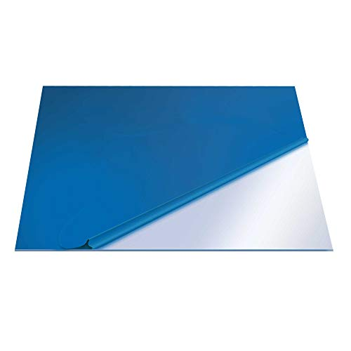Superior Graphic Supplies PETG Clear Plexiglass Plastic Sheets 48 x 48 inches - 40mil (.040'/1.02MM) Thickness for DIY, Display Projects and Crafts