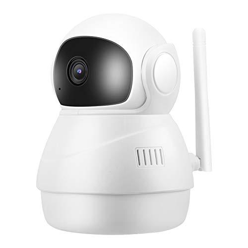 P2P-babyfoon voor binnen, 1080P WiFi IP 2-weg intercom PTZ IR-CUT video babyverzorgingscamera voor slaapveiligheid en waarschuwingen voor gevarenzones (EU)