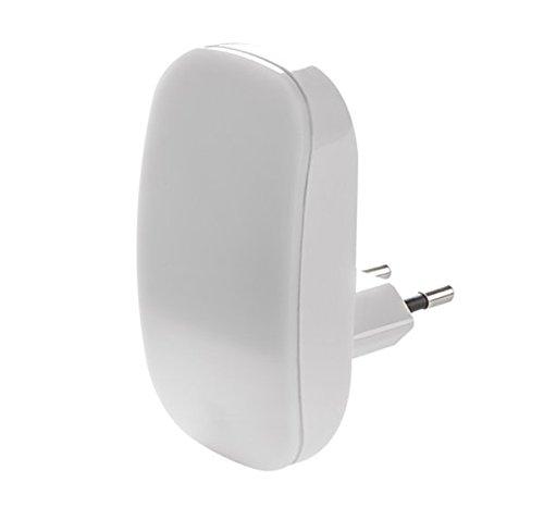 "UNITEC LED-Nachtlicht mini\""Maus\"" mit Dämmerungssensor, Plastik, Weiߟ, 18.5 x 11.5 x 6 cm"