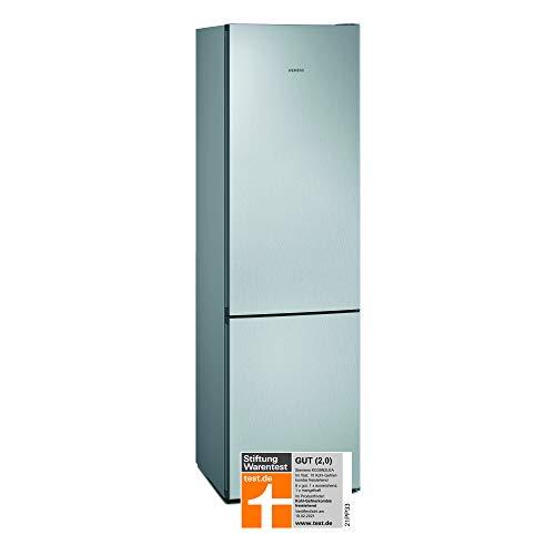 Siemens KG39N2LEA iQ300 Freistehende Kühl-Gefrier-Kombination / E / 238 kWh/Jahr / 368 l / hyperFresh Frischesystem / noFrost / LED-Innenbeleuchtung / superCooling