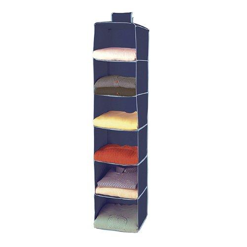Rayen 2366.70 - Organizador de armarios, con 6 compartimentos, 125 x 30 x 30 cm