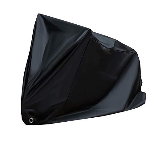 XINTUON Cubierta de bicicleta impermeable para interior y exterior, almacenamiento de lluvia y sol, protege la bicicleta fácil de empacar