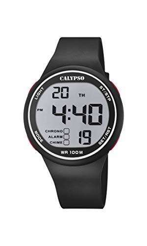 Calypso Reloj Digital para Hombres de Cuarzo con Correa en plástico K5795/1