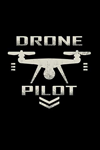 Drone pilot: 6x9 Drone | lined | ruled paper | notebook | notes