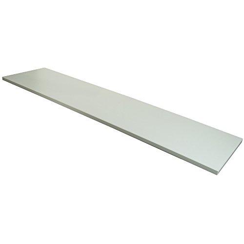 Econoco 48 Inch White Melamine Shelf