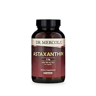 Dr Mercola Astaxanthin (300mg ALA per capsule) 90 Caps