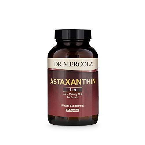 Los suplementos de primera calidad, la astaxantina, 90 Licaps Cápsulas - Dr. Mercola