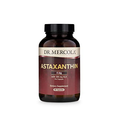 Dr. Mercola, Astaxanthin, 300 mg ALA (90 Capsules)