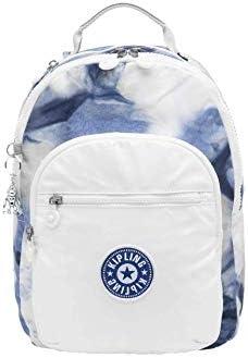 Kipling Women s Seoul Backpack Tie Dye Blue Lacquer 10 L x 13 75 H 4 5 D product image