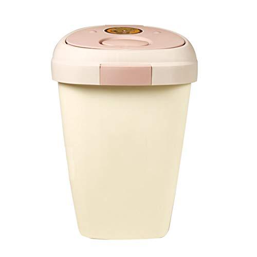 Jlxl huisdier voedsel container, keuken ambacht levende nostalgie opslag tin met voor metalen schep, M