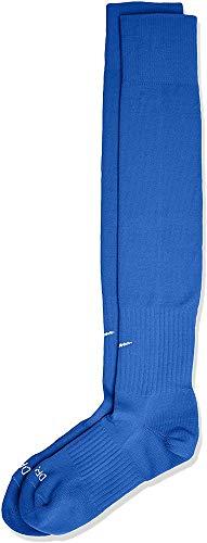 Nike Classic II Cushion Over-the-Calf Soccer Football Sock (Royal Blue/White, L)