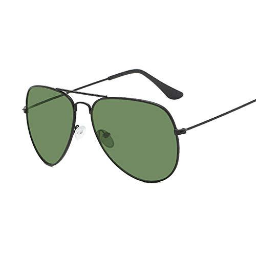 OcchialidaSole Occhiali da Sole Vintage Uomo Occhiali da Sole Occhiali da Vista Donna Spring Leg-Black_G15