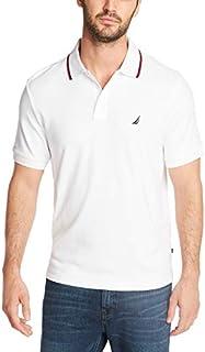 Nautica Men's Classic Fit Short Sleeve Dual Tipped Collar...
