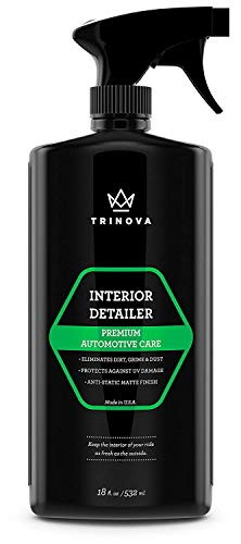 Interior Quick Detailer - Stain Remover, Dashboard Cleaner...
