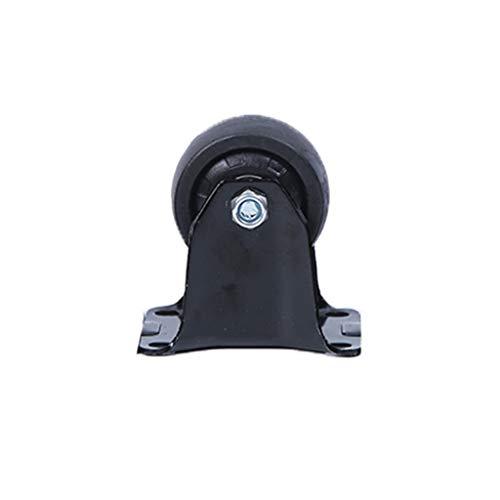 N / A Caster, Richtungsradgummi, 360 ° -Schwenkrad, Bürostuhlgießer, Protect Your CarpetHardwood(Size:5)